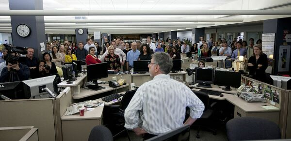 Boston Globe Editor Martin Baron Announces Departure For Washington Post
