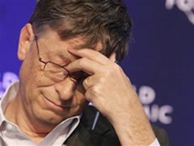 Bill Gates participó en el Foro Económico Mundial. (Foto: AP)
