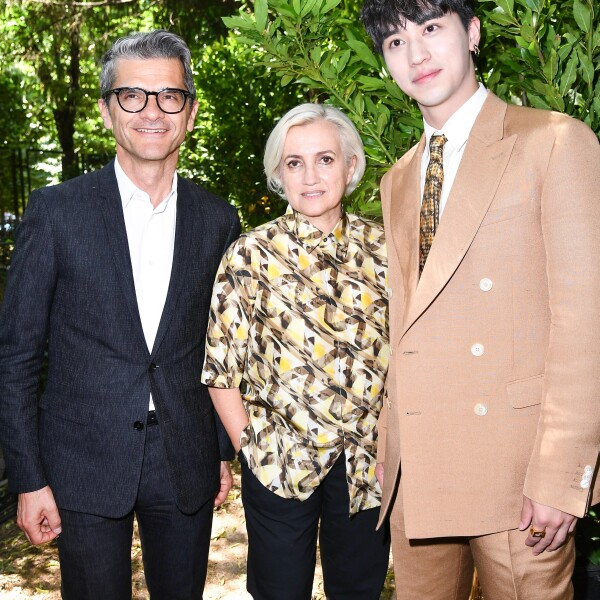 Serge Brunschwig, Silvia Venturini Fendi and Timmy Xu @ FENDI MSS20 Fashion Show.jpg