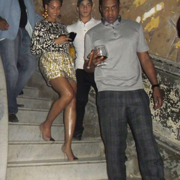 La pareja visitó el famoso restaurante `La Guardia´ en el que se filmó la película `Fresa y Chocolate´ y el que otros famosos han visitado.