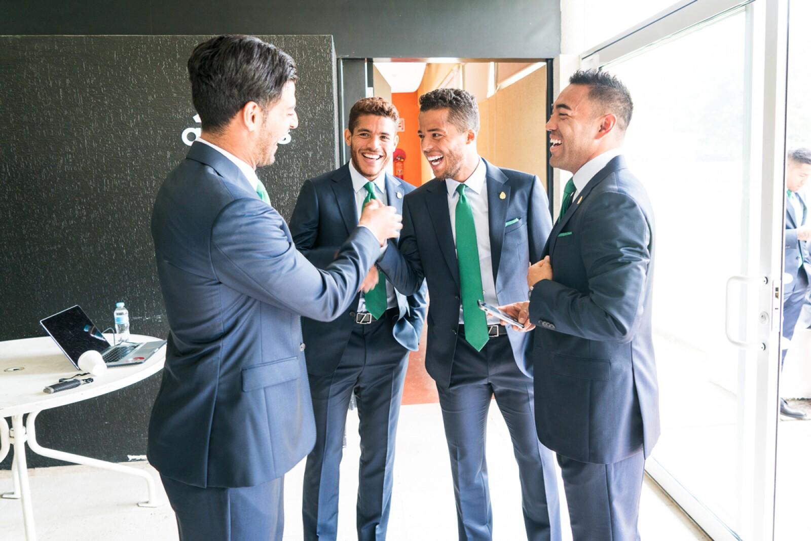 Ermenegildo Zegna acompaña a la Selección Nacional