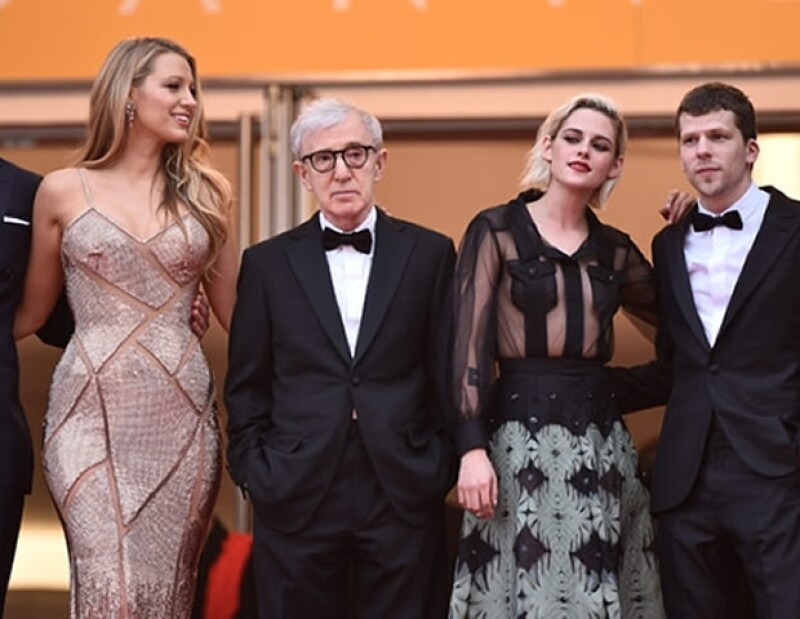 El elenco de Cafe Society en el Fesrival de Cannes