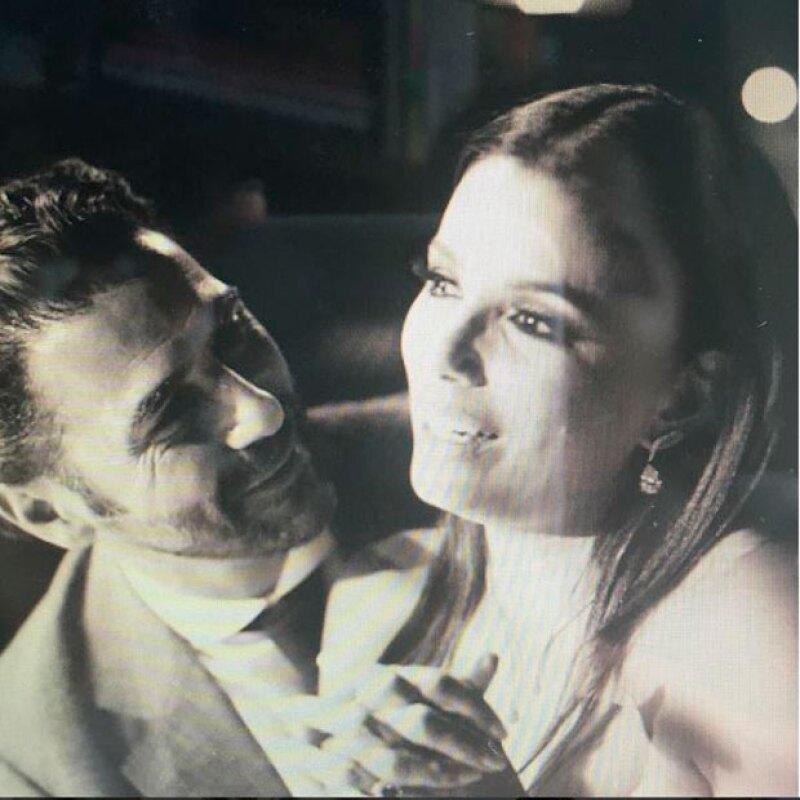 Aunque evita exponerlo en redes sociales, la actriz envió una felicitación llena de amor a su esposo en su primer mes como marido y mujer.