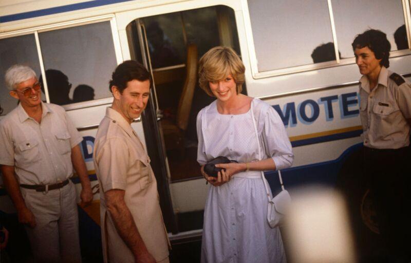 príncipe Carlos y Lady Di