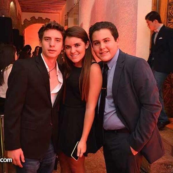 Gustavo Salcido,Ximena Arnaiz y Claudio Tomassi.