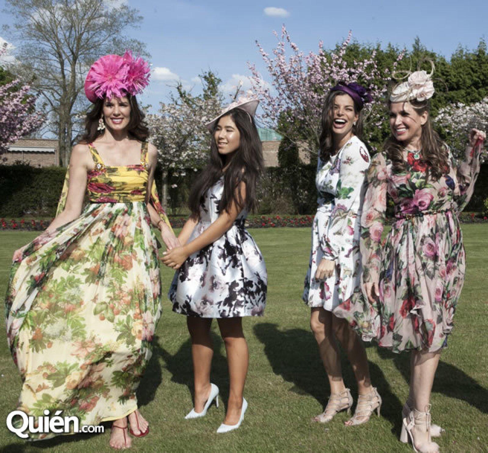 Christina Estrada, Sirina Juffali, Bárbara Coppel y Sonia Falcone