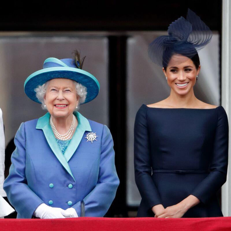 reina Isabel y Meghan Markle