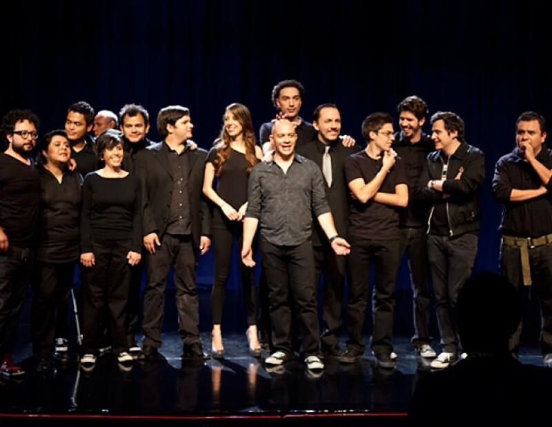 Ha-Ash, Fernando Platas, Soraya Jiménez, Iridia Salazar y Víctor Estrada fueron los presentadores de los nuevos programas de `Comedy Central´.