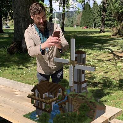 Mexicanos unos de los primeros en probar Minecraft Earth