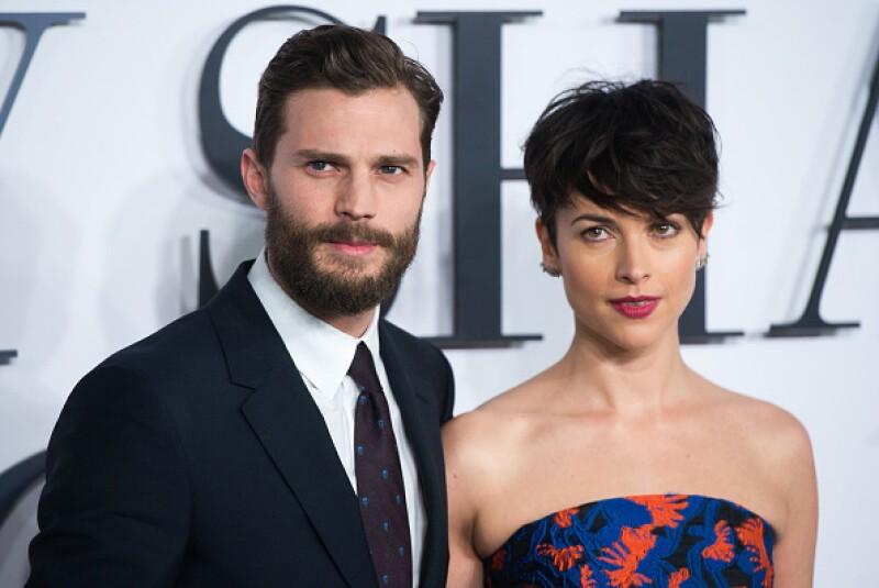 La estrella de 50 Shades of Grey y su esposa, Amelia Warner, dieron la bienvenida a su segunda niña.