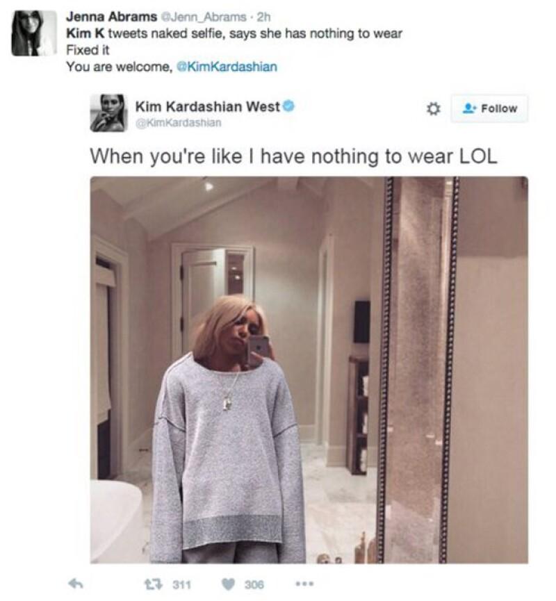 Al parecer, este es uno de los outfits de Kanye West.
