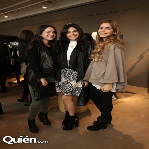 Fernanda Castillo, Alejandra Macías y Mariana Meza