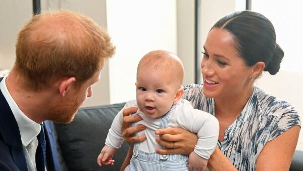 Príncipe Harry, Meghan Markle y Archie Harrison