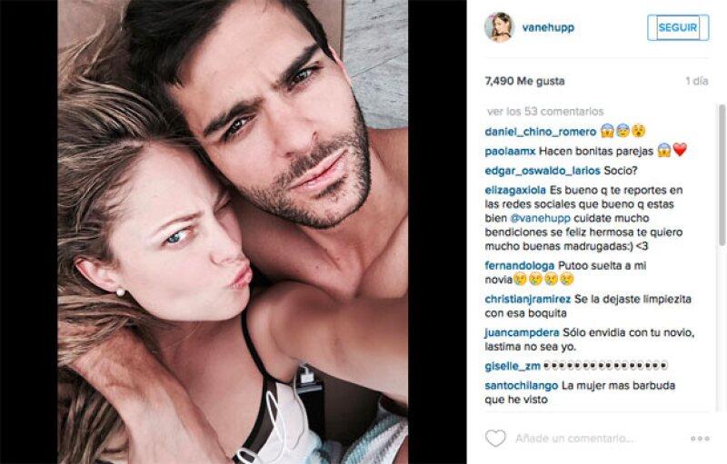 Entre corazones rotos y felicitaciones, sus seguidores en Instagram dieron a entender que el hombre en cuestión se trataba de su nuevo novio.