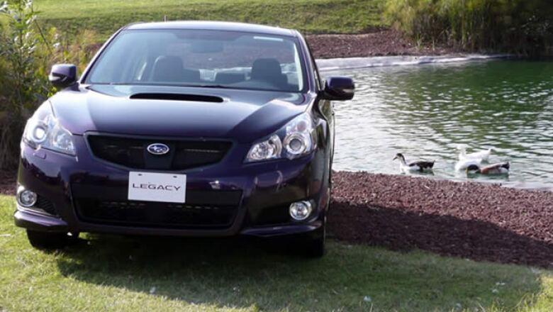 El Subaru Legacy 2010 fue seleccionado como el mejor auto familiar del año según la revista estadounidense Parents y el sitio edmunds.com.