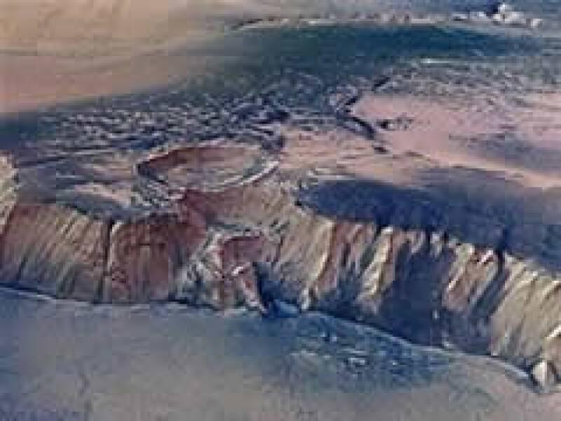 Este cañon comprueba la existencia de un lago en el planeta. (Foto: Reuters)