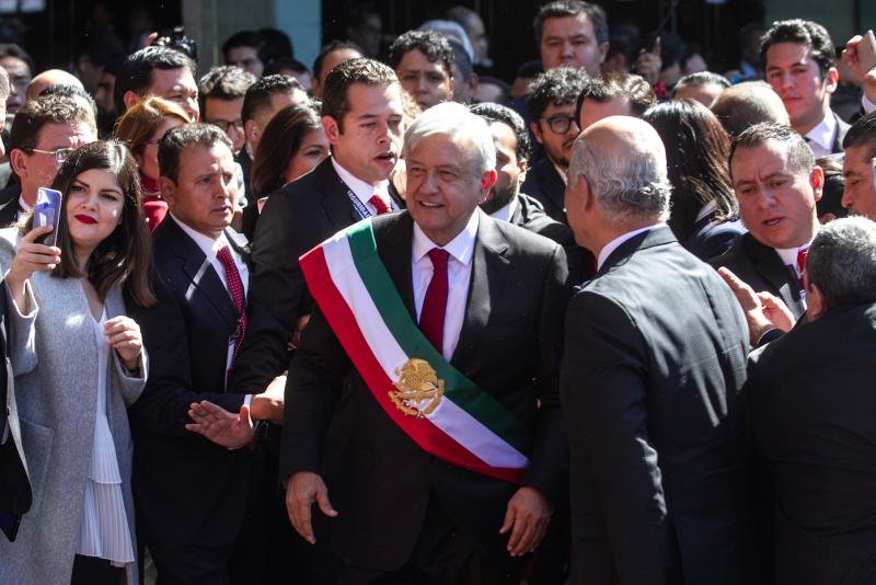 AMLO ya es presidente de México.