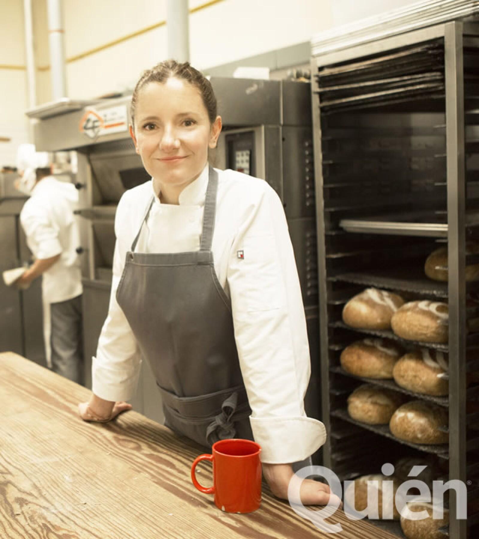 Elena Reygadas, chef y fundadora de Rosetta. Ganó el premio Veuve Clicquot a la Chef Femenina de 2014