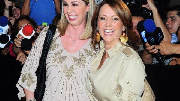 Atala Sarmiento y Andrea Legarreta