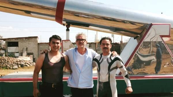 Nelson Pérez Pasillas, 'El hombre bala' y Alfonso Cuarón