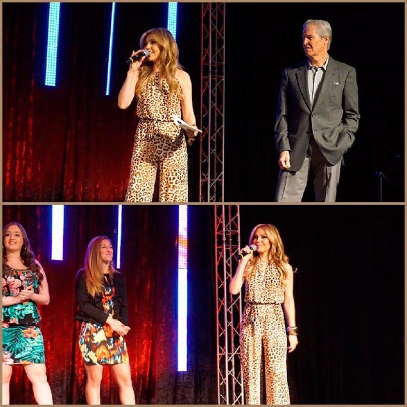 La cantante presentó su línea Thalía Sodi Collection como parte de la Conferencia Global de Minoristas, en donde también estuvieron presentes los CEO de Google, Whole Foods y más.