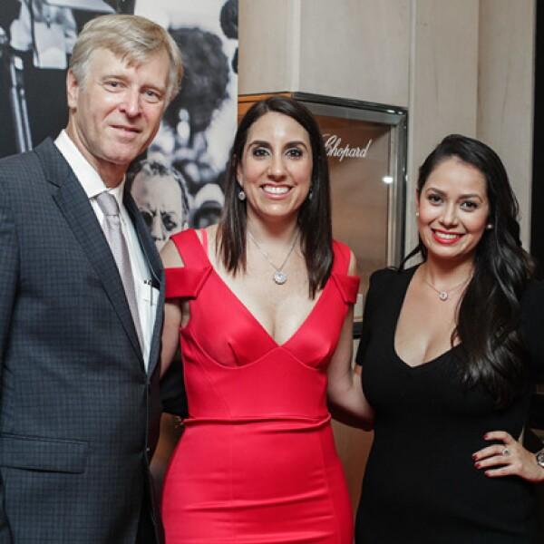 Rudolph Lang,Alejandra Lorenzo y Anielka Sandoval