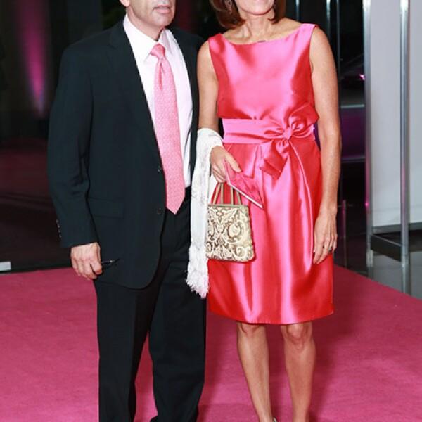 Jorge Domínguez y Magdalena Chapa