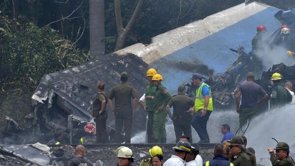 Accidente en Cuba