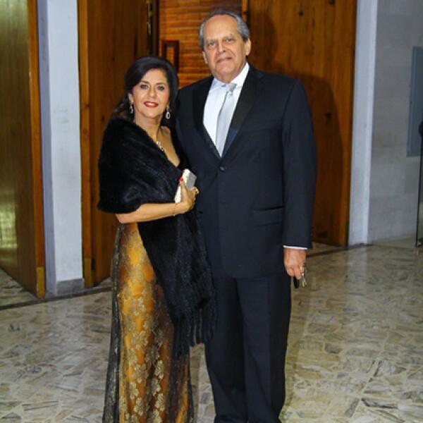 Susana Martínez de Fernández y Rafael Fernández