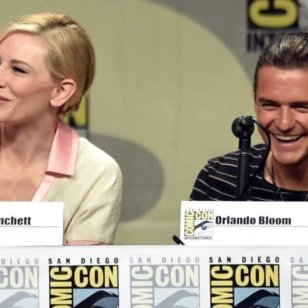 Comic Con 2014 Cate Blanchett; Orlando Bloom