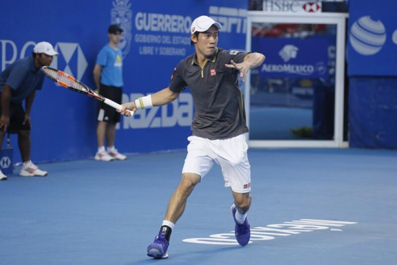 Kei Nishikori es considerado el mejor tenista japonés.