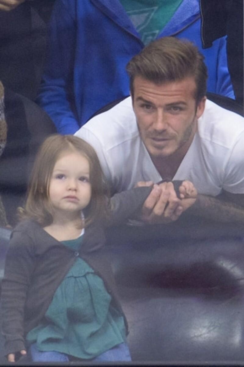 El ex futbolista asegura que no le gusta que le digan a su pequeña de dos años lo que tiene que hacer.