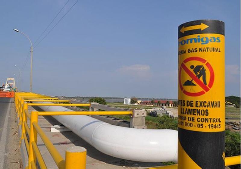Tubo de gas