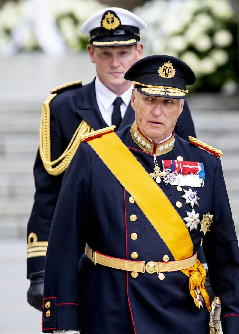Funeral of Grand Duke Jean in Luxembourg 4 May