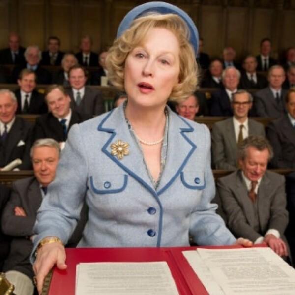 La dama de hierro, Meryl Streep