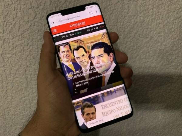 El Mate 20 Pro es uno de los equipos de alta gama de la marca china Huawei