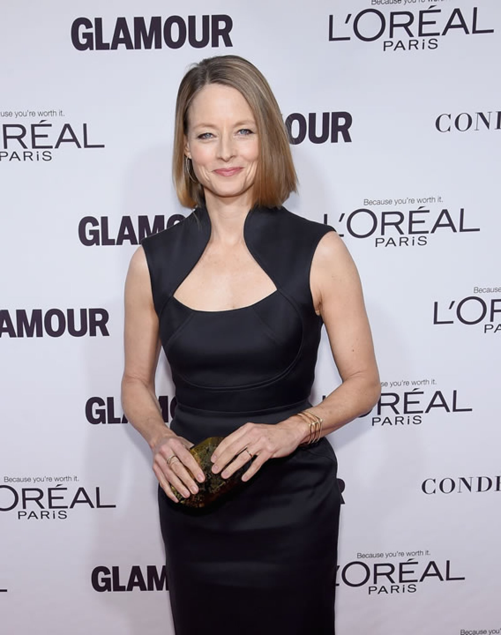 Jodie Foster como toda una classy women a sus 52 años.