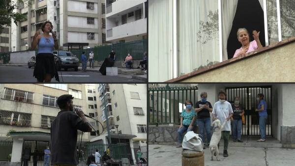 """Serenatas en Caracas como """"válvula"""" de escape en tiempos de cuarentena"""