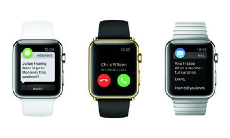 No existe fecha ni precio definido para el Apple Watch en México. (Foto: Cortesía Apple )