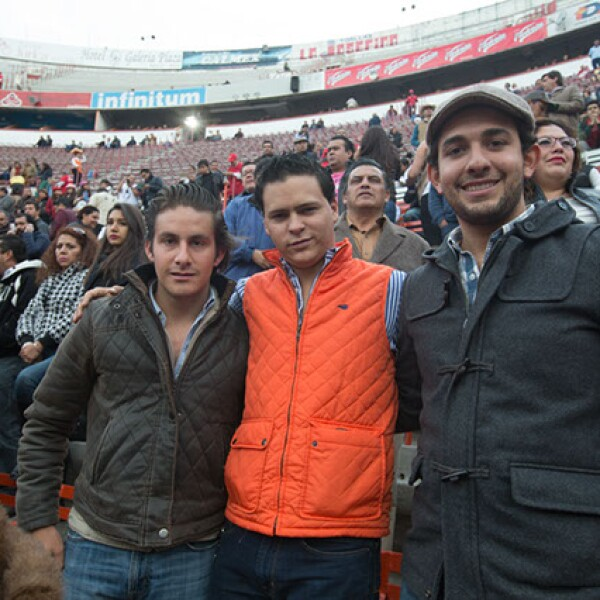 José Luis Gutiérrez,Josechu Cano,Alfredo Tamez