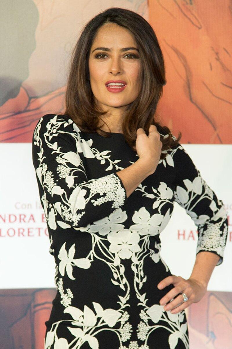 A sus casi 50, Salma es una de las actrices más atractivas de Hollywood.