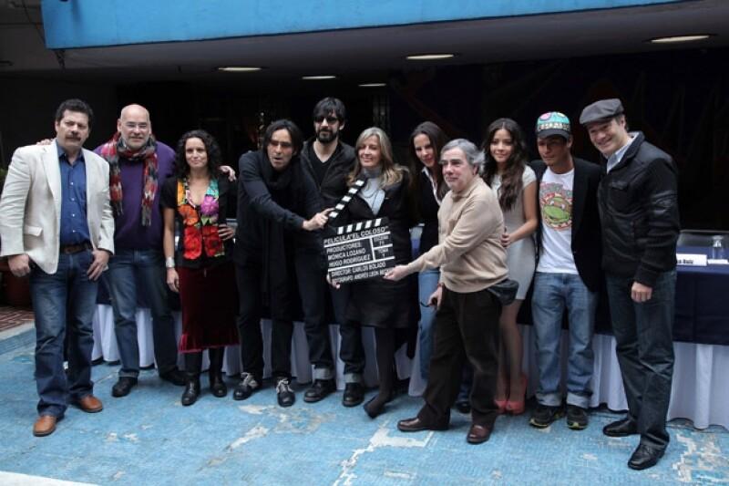 'Colosio: El asesinato' cuenta con un gran elenco y se estima que podría estrenarse este año.