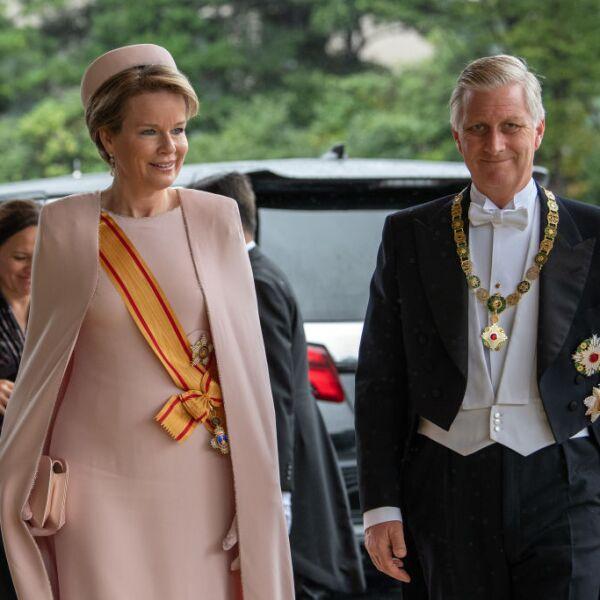 El rey Felipe de Bélgica y la reina Mathilde
