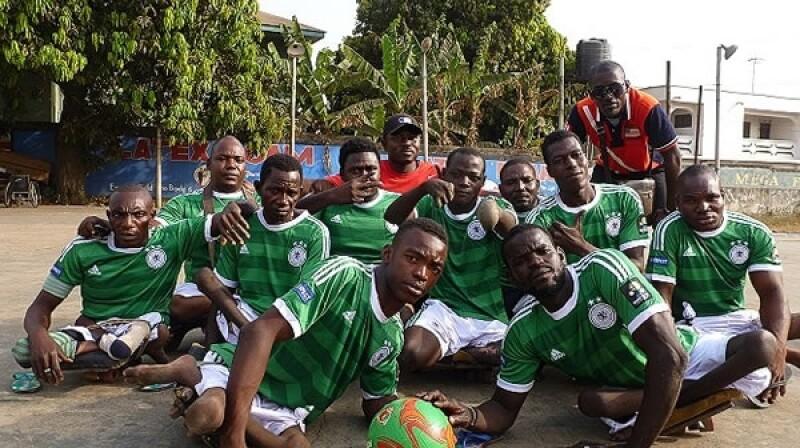 jugadores con polio ghana