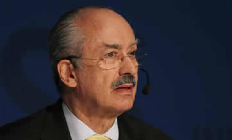 Gil Díaz apunta que Telefónica México presentará comentarios a la iniciativa durante su discusión en foros parlamentarios. (Foto: Notimex)