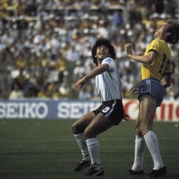 Maradona en 1982