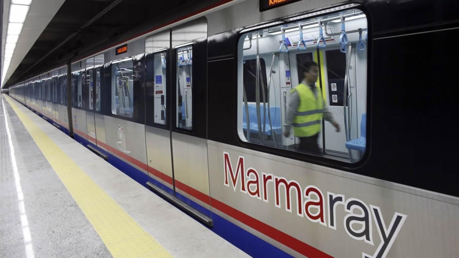 Marmaray tren Turquía 2