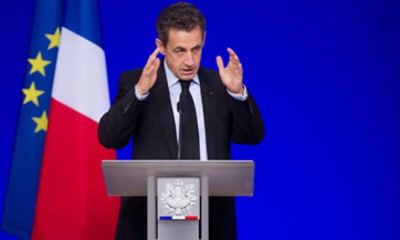 Nicolas Sarkozy llamó a su homólogo chino, Hu Jintao, al considerar que Pekín tenía un papel importante que jugar en el rescate de Europa. (Foto: AP)