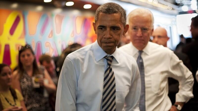obama en una tienda de comida de washington