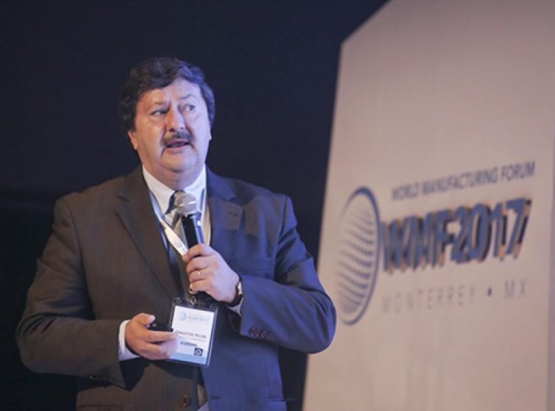 Erastos Filos, director del Programa de Investigación e Innovación, de la Comisión Europea